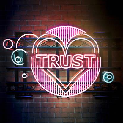 Brick Wall「Trust」:スマホ壁紙(0)
