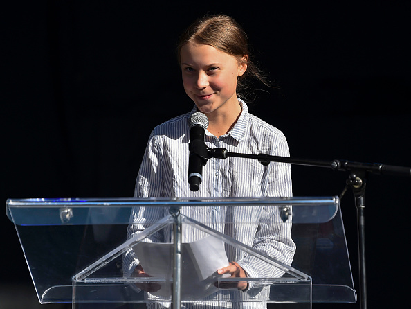 Greta Thunberg「Climate March Held In Montreal, Canada」:写真・画像(12)[壁紙.com]