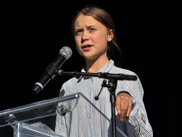 Greta Thunberg「Climate March Held In Montreal, Canada」:写真・画像(17)[壁紙.com]