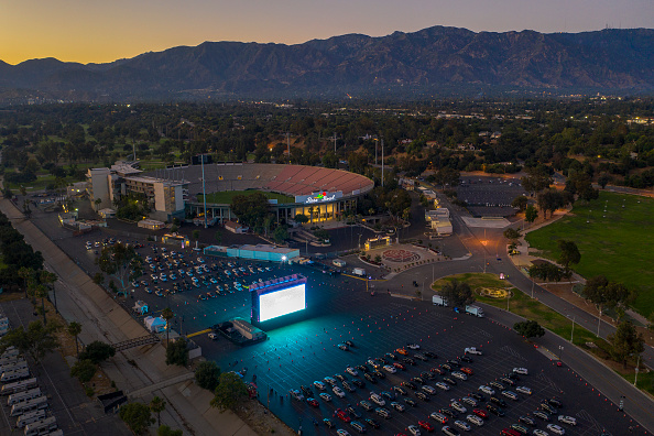 Fourth of July「Rose Bowl Hosts Drive-In Movie Theater To Replace Canceled Fourth Of July Fireworks」:写真・画像(11)[壁紙.com]