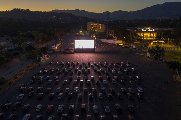Pasadena - California「Rose Bowl Hosts Drive-In Movie Theater To Replace Canceled Fourth Of July Fireworks」:写真・画像(9)[壁紙.com]