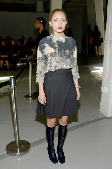 Black Shoe「Rodarte - Front Row - Mercedes-Benz Fashion Week Spring 2015」:写真・画像(11)[壁紙.com]