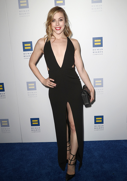 Ashley Wagner「Human Rights Campaign's 2018 Los Angeles Gala Dinner - Arrivals」:写真・画像(8)[壁紙.com]