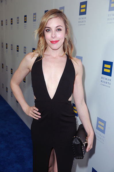 Ashley Wagner「The Human Rights Campaign 2018 Los Angeles Gala Dinner - Red Carpet」:写真・画像(9)[壁紙.com]