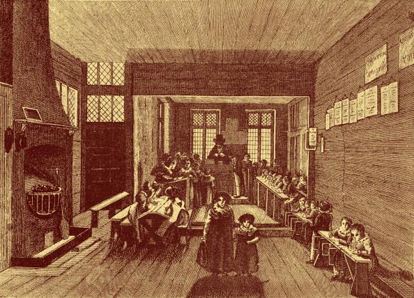 City Life「Charity school under John Bunyan's Meeting-House」:写真・画像(10)[壁紙.com]