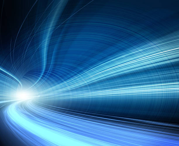 Abstract Speed motion in highway tunnel:スマホ壁紙(壁紙.com)