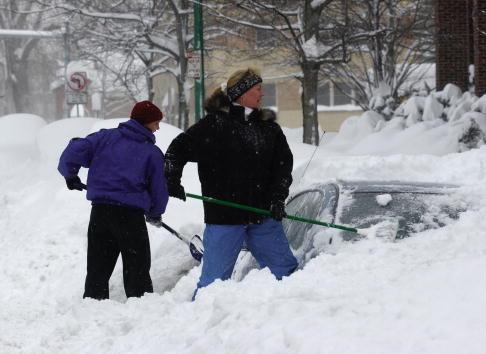 雪「Snowstorm Hits Buffalo」:写真・画像(18)[壁紙.com]