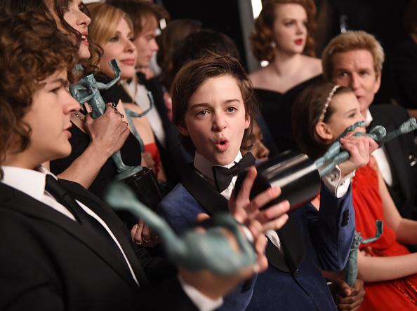 Noah Schnapp「The 23rd Annual Screen Actors Guild Awards - Media Complex」:写真・画像(12)[壁紙.com]