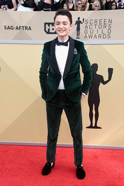 Noah Schnapp「24th Annual Screen Actors Guild Awards - Arrivals」:写真・画像(9)[壁紙.com]