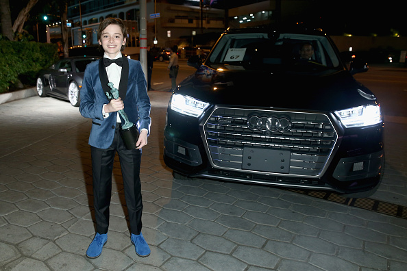 Noah Schnapp「The Weinstein Company & Netflix's SAG 2017 After Party presented by Audi」:写真・画像(11)[壁紙.com]