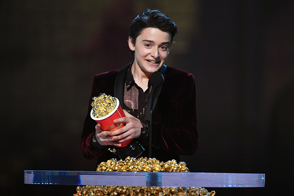 笑顔「2018 MTV Movie And TV Awards - Show」:写真・画像(9)[壁紙.com]