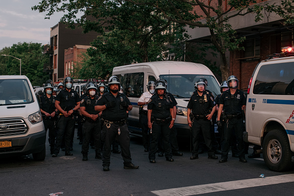 Brooklyn - New York「Protests Continue Across The Country In Reaction To Death Of George Floyd」:写真・画像(19)[壁紙.com]