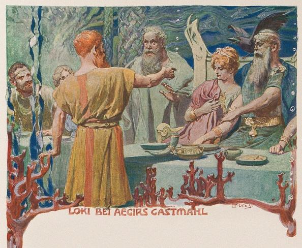 God「Loki At Ægirs Banquet From Valhalla: Gods Of The Teutons」:写真・画像(4)[壁紙.com]