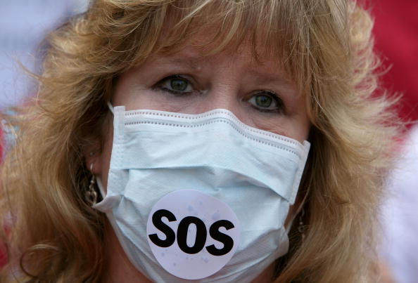 Protection「Nurses Protests CA's State Hospital's Readiness For H1N1 This Flu Season」:写真・画像(9)[壁紙.com]