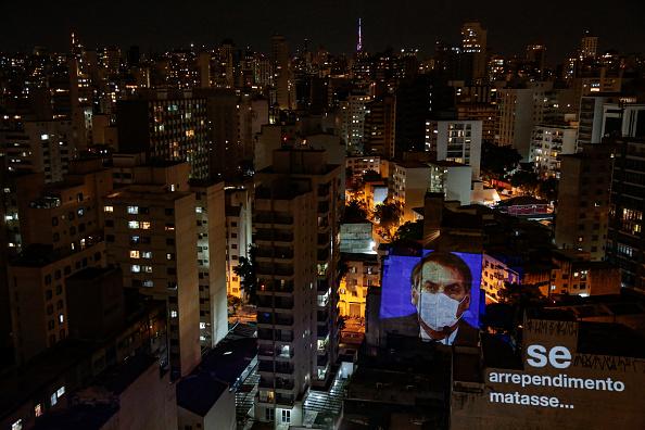 President of Brazil「Pots and Pans Protest (Panelaco) Against Brazilian President Jair Bolsonaro」:写真・画像(18)[壁紙.com]