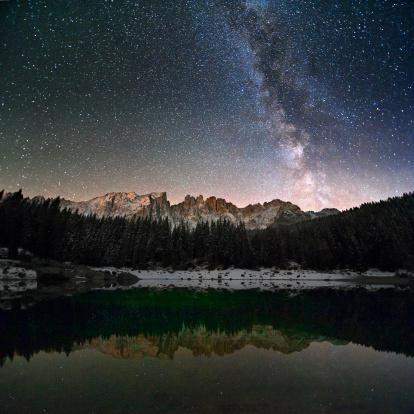 秋「Milky Way で、アルプス」:スマホ壁紙(19)