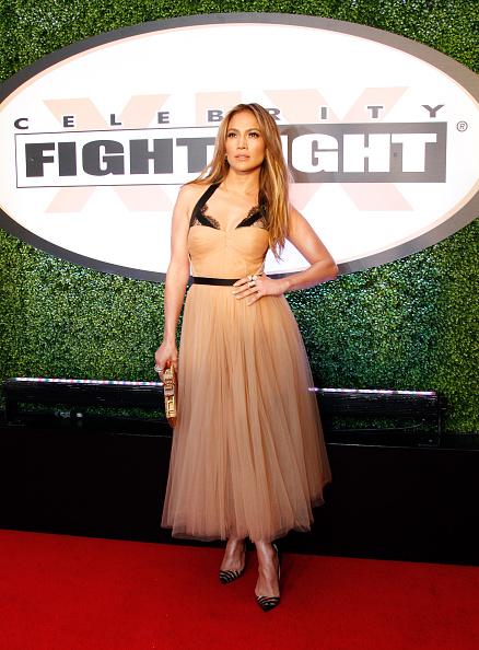 Scalloped - Pattern「Celebrity Fight Night XIX - Arrivals」:写真・画像(16)[壁紙.com]