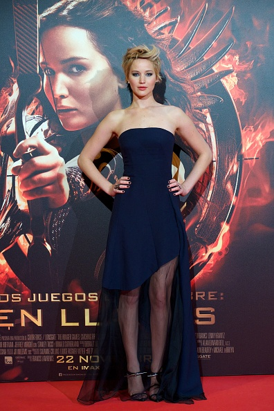 Dark Blue「'The Hunger Games: Catching Fire' Madrid Premiere」:写真・画像(0)[壁紙.com]