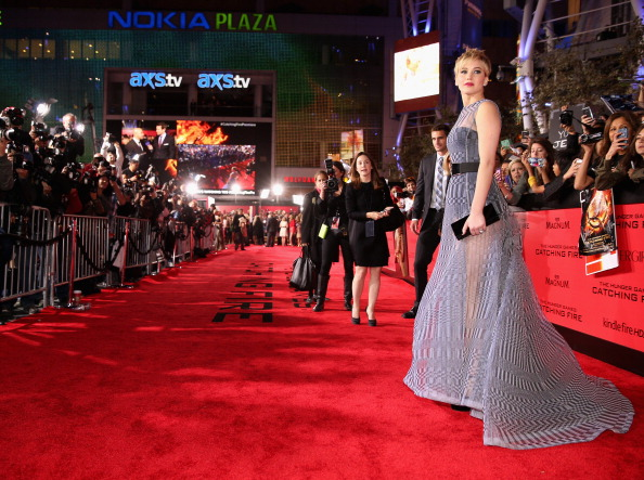 "Film Premiere「Premiere Of Lionsgate's ""The Hunger Games: Catching Fire"" - Red Carpet」:写真・画像(1)[壁紙.com]"