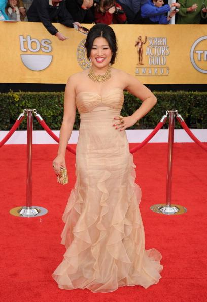 Strapless Dress「17th Annual Screen Actors Guild Awards - Arrivals」:写真・画像(14)[壁紙.com]