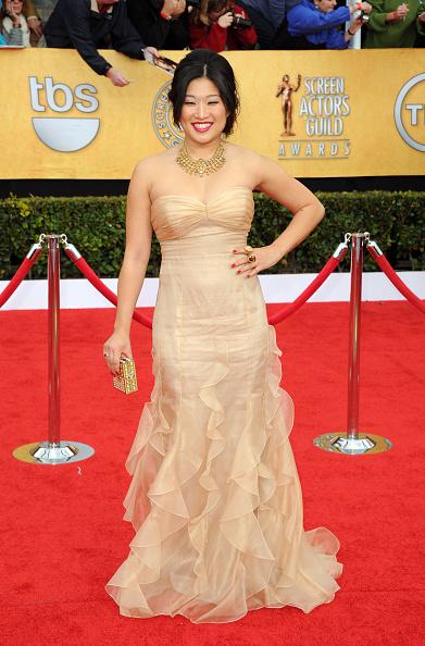 Strapless Dress「17th Annual Screen Actors Guild Awards - Arrivals」:写真・画像(7)[壁紙.com]