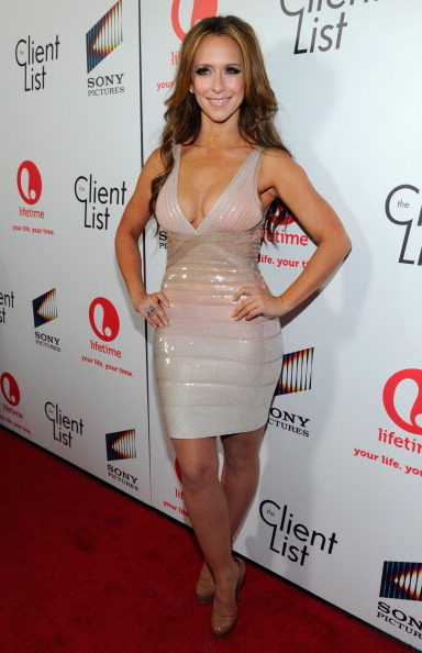 """Herve Leger「Lifetime And Sony Pictures Television Red Carpet Launch Party For """"The Client List""""」:写真・画像(1)[壁紙.com]"""
