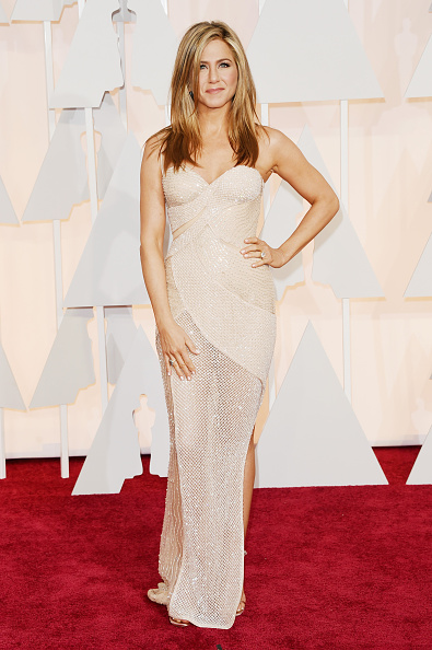 Nude Colored Dress「87th Annual Academy Awards - Arrivals」:写真・画像(2)[壁紙.com]