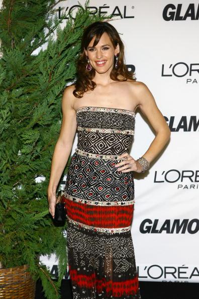 Print Dress「Glamour Women Of The Year Awards - Arrivals」:写真・画像(8)[壁紙.com]