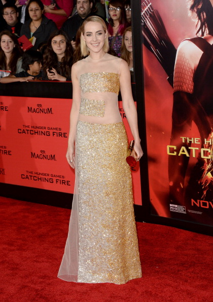 """Hair Part「Premiere Of Lionsgate's """"The Hunger Games: Catching Fire"""" - Arrivals」:写真・画像(13)[壁紙.com]"""