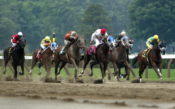 Horse「Saratoga Race Course Opening Weekend」:写真・画像(7)[壁紙.com]