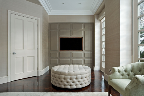Architectural Cornice「drawing room with TV watching area」:スマホ壁紙(7)