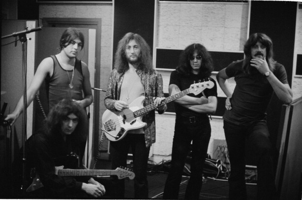 紫「Deep Purple In A Recording Studio」:写真・画像(3)[壁紙.com]