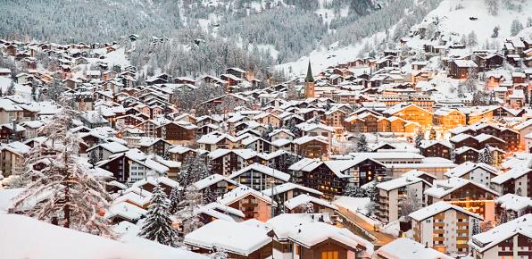 Chalet「Zermatt. Switzerland」:スマホ壁紙(12)