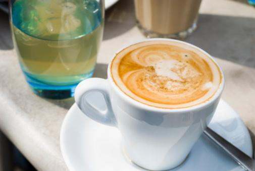 Latte「朝のお飲み物」:スマホ壁紙(19)