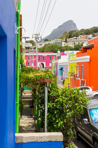 Malay Quarter「Lions head mountain above Bo Kaap」:スマホ壁紙(13)