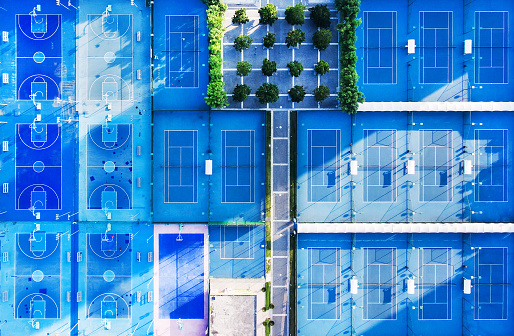 テニス「スポーツの学校」:スマホ壁紙(1)