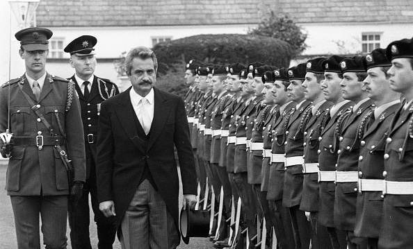 Republic Of Cyprus「Ambassador of the Republic of Cyprus Angelos Angelides at Aras an Uachtarain 1985」:写真・画像(10)[壁紙.com]