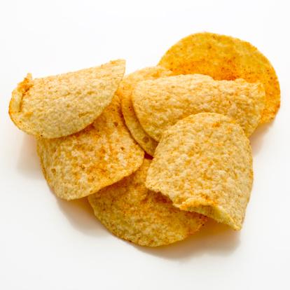 Scalloped - Pattern「Potato chips」:スマホ壁紙(18)