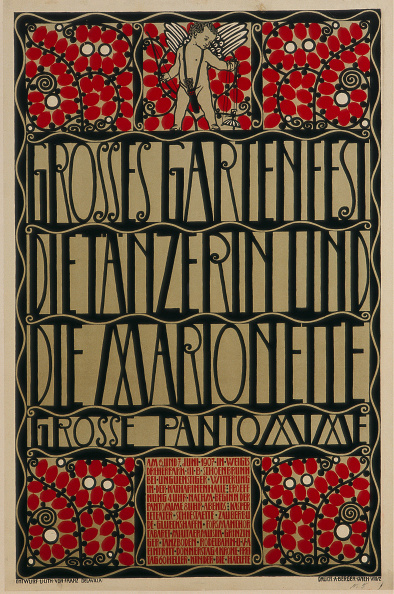 1900-1909「Poster For Garden Party」:写真・画像(7)[壁紙.com]