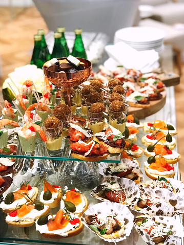 Buffet「Buffet table with canapes」:スマホ壁紙(8)