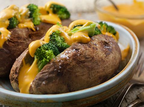 Baked Potato「Cheese and Broccoli Stuffed Potatoes」:スマホ壁紙(13)