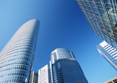 Low Angle View「Skyscraper」:スマホ壁紙(4)
