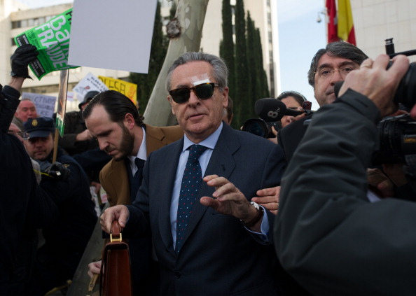Finance「Ex-Bankia President Miguel Blesa Leaves Madrid Court」:写真・画像(8)[壁紙.com]