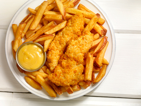 Side Dish「Chicken Strips with French Fries」:スマホ壁紙(13)