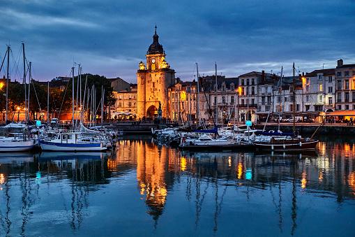 Nouvelle-Aquitaine「The port of La Rochelle, France」:スマホ壁紙(13)