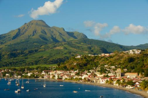 Active Volcano「Martinique, Saint-Pierre and the Montagne Pelée」:スマホ壁紙(5)