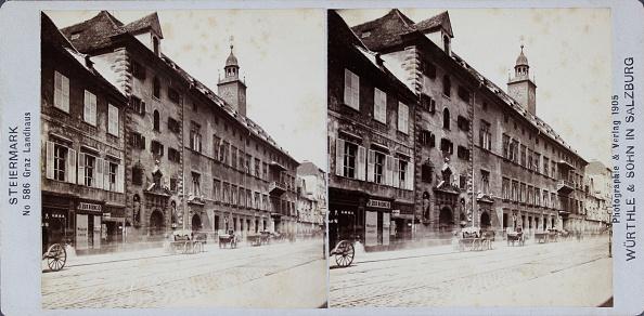 Graz「Graz. Landhaus. Steiermark (No. 586). 1905. Stereo-Photographie & Verlag Würthle & Sohn / Salzburg.」:写真・画像(9)[壁紙.com]