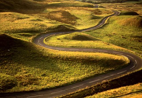 Country Road「Road Snaking Through Landscape」:スマホ壁紙(6)