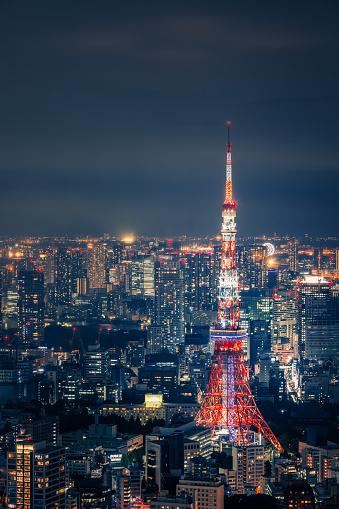 Japan「東京の夜の街並み」:スマホ壁紙(13)