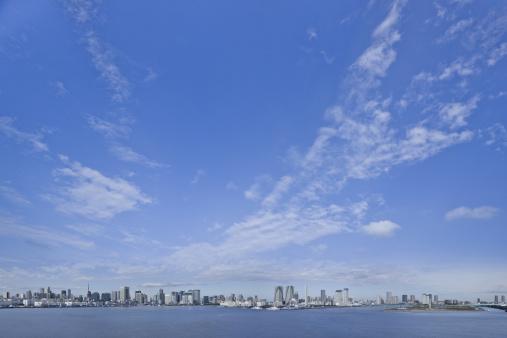 海「Tokyo skyline」:スマホ壁紙(6)